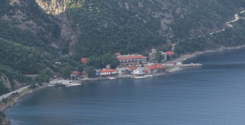 Порт Дафни (гора Афон)