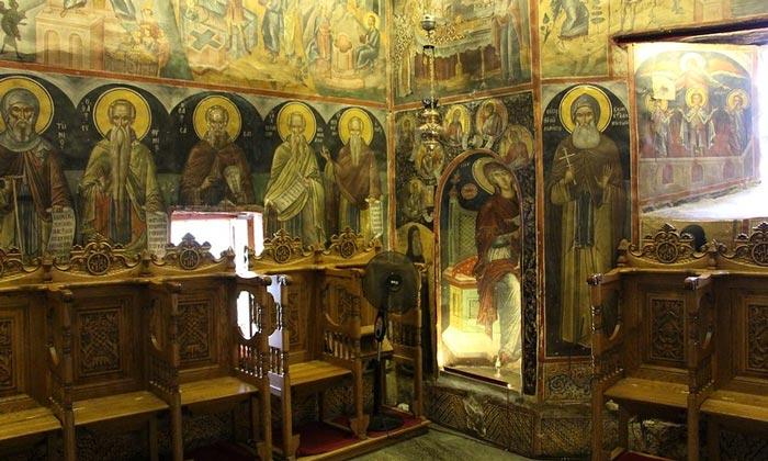 Пост-византийские фрески монастыря Святого Николая Анапавсаса