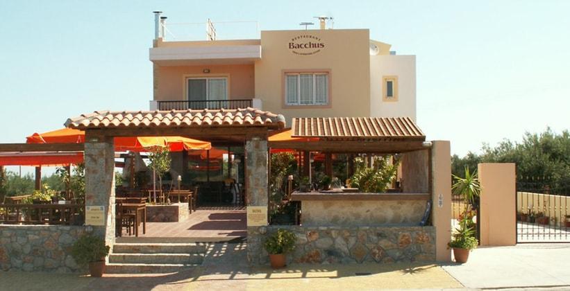 Ресторан Bacchus в Ираклионе (Греция)