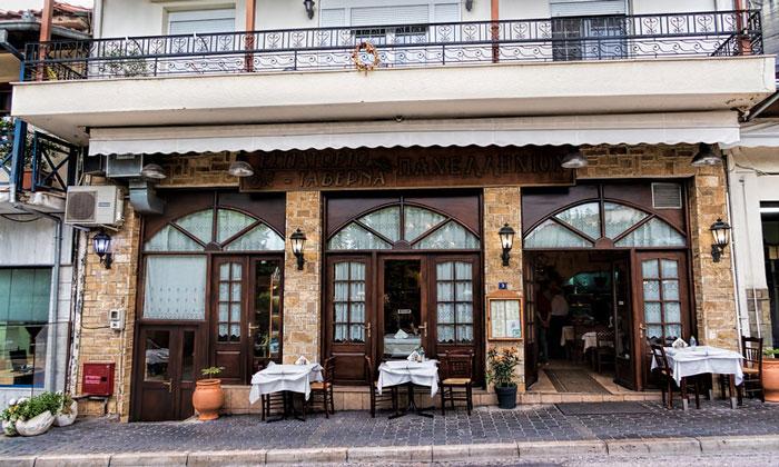 Ресторан Panellinio в Каламбаке