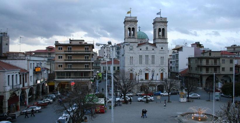Город Триполис в Греции
