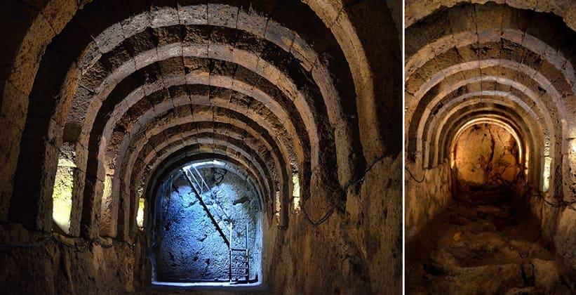 Туннели для паломников (Некромантион Ахерона – Греция)