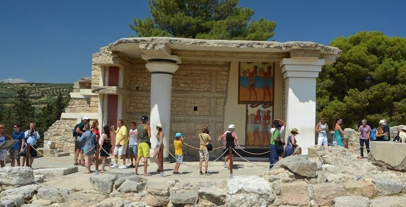Южные Пропилеи Кносского дворца (Греция)