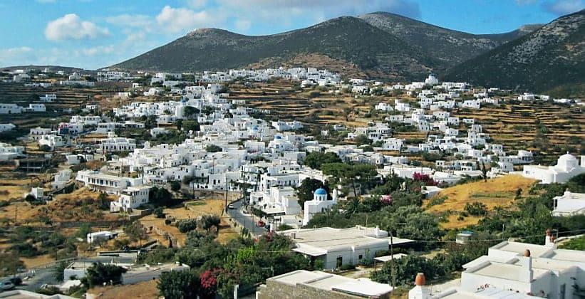 Деревни Аполлония и Артемонас на острове Сифнос (Греция)
