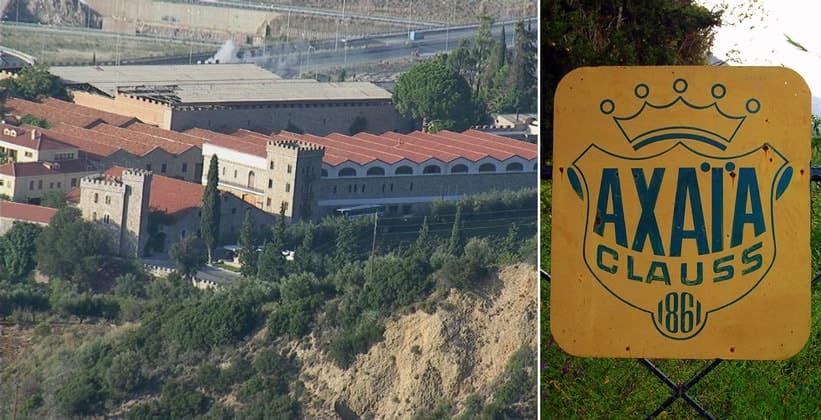 Винный завод Achaia Clauss в Греции