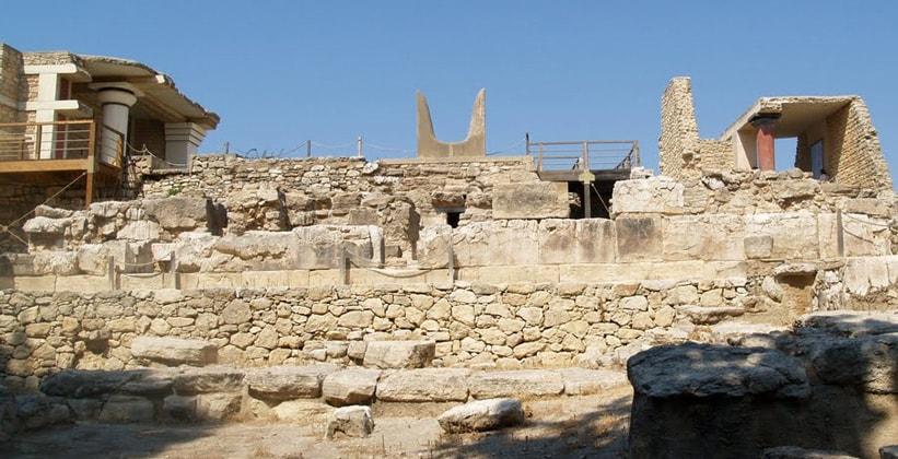 Южный фасад Кносского дворца (Греция)