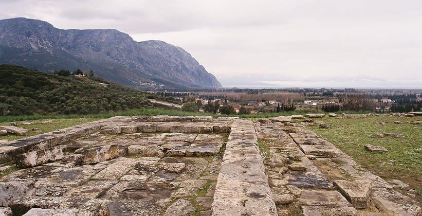Руины античного Калидона (Греция)