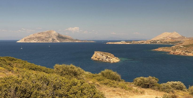 Мыс Сунион в Аттике (Греция)