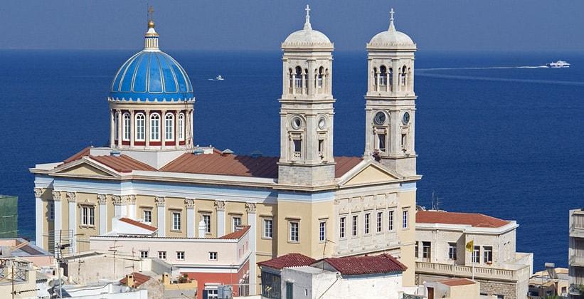 Собор Святого Николая Чудотворца в городе Эрмуполис (Греция)