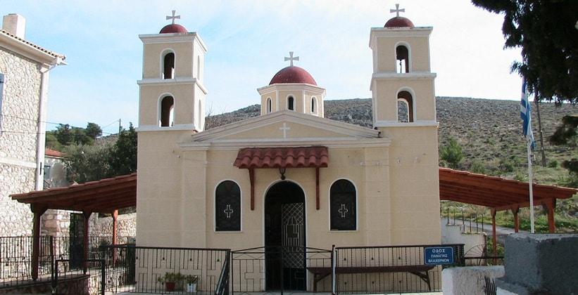Церковь Пресвятой Богородицы в городе Галаксиди (Греция)