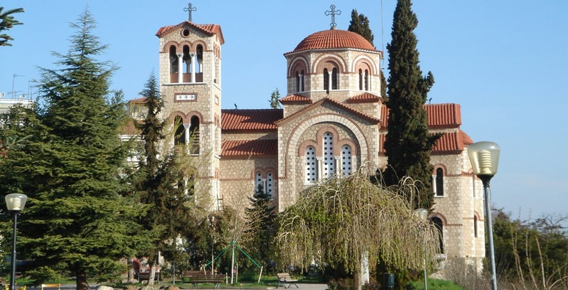 Одна из церквей Верии