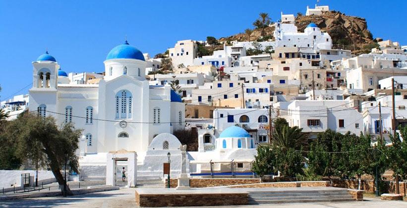 Одноимённый город Иос (Греция)