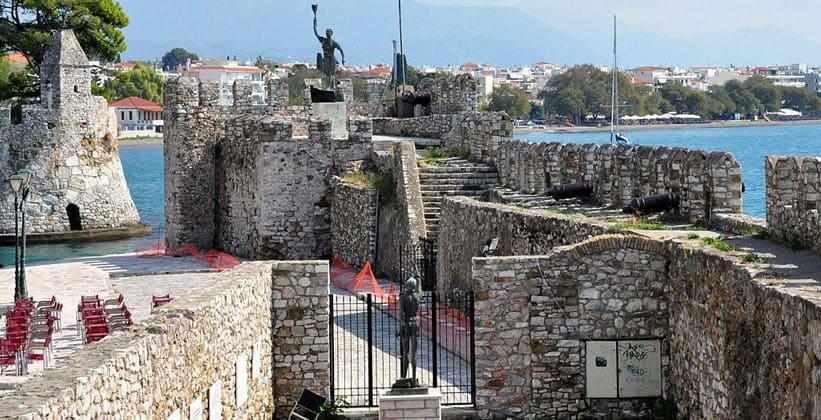 Укрепления порта Нафпактос (Греция)