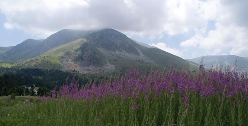 Гора Тимфристос в Греции