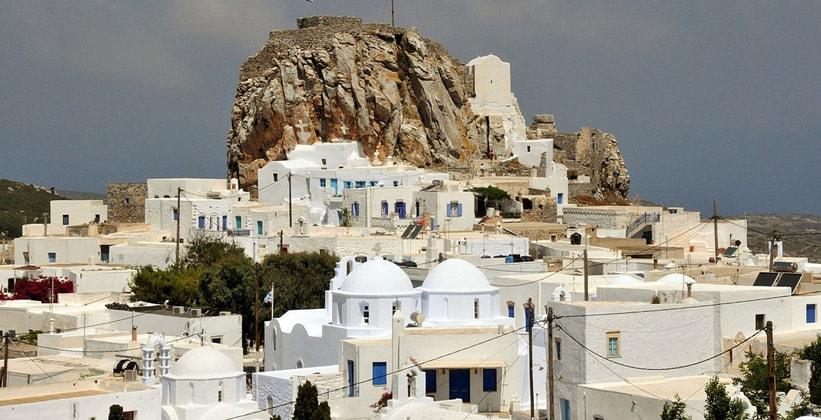 Хора на острове Аморгос (Греция)