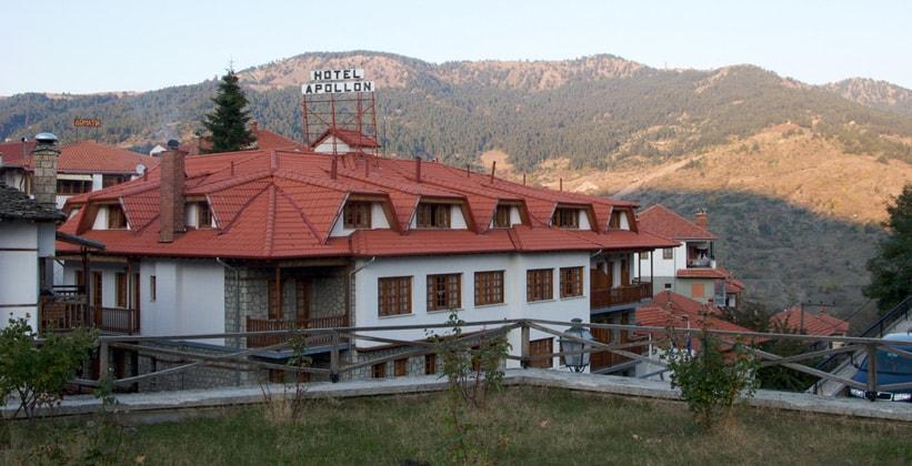 Отель Apollon в Мецово (Греция)