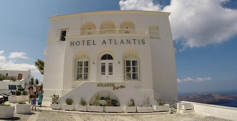 Город Atlantis в городе Фира (Греция)