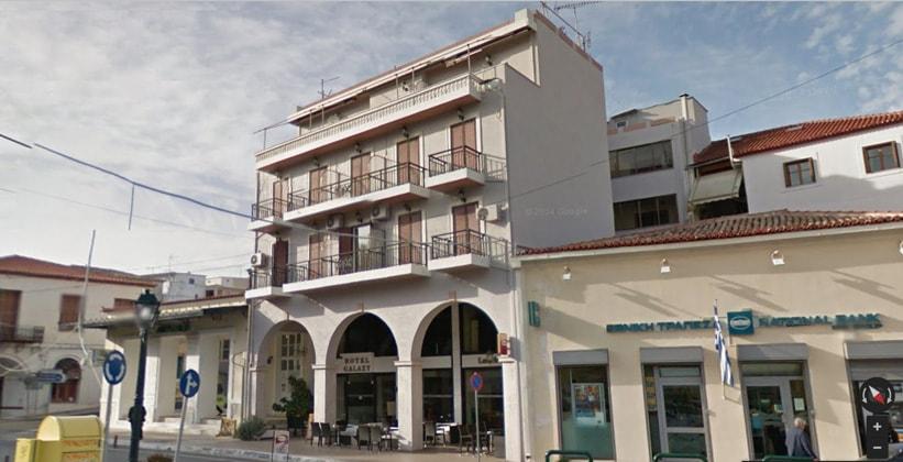 Отель Galaxy в городе Пилос