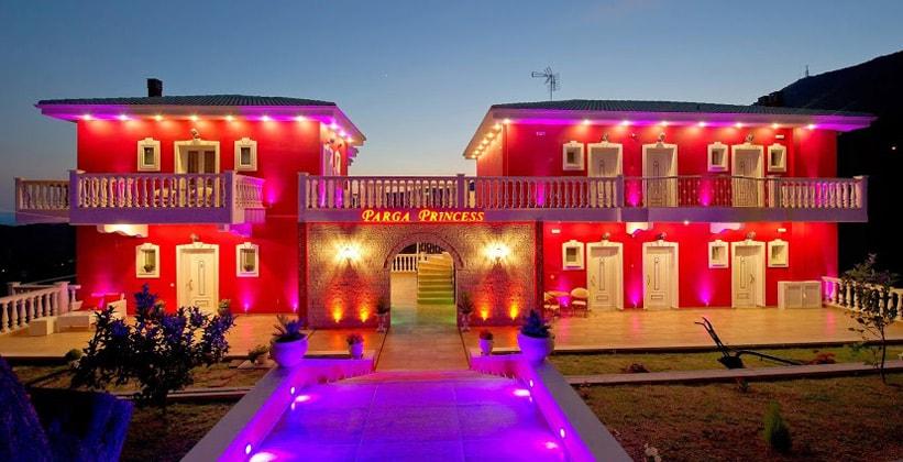 Отель Princess в городе Парга (Греция)