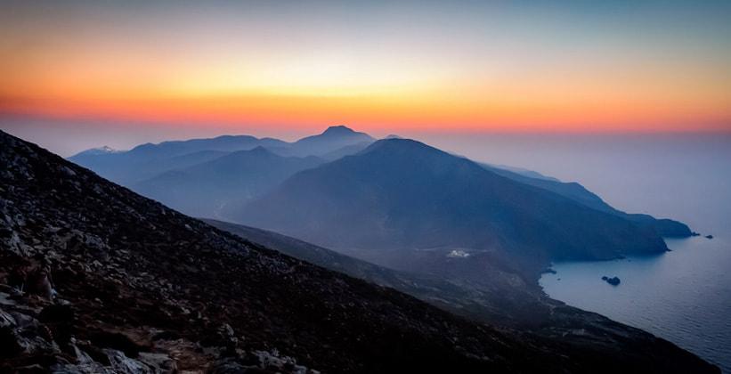 Остров Анафи в Греции
