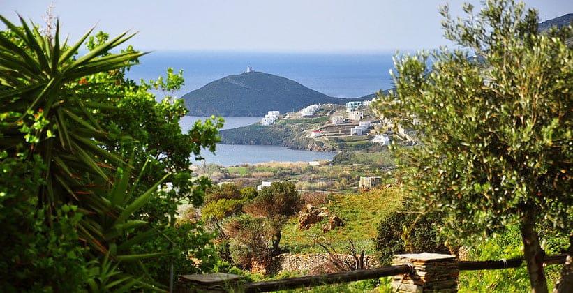 Остров Андрос в Греции
