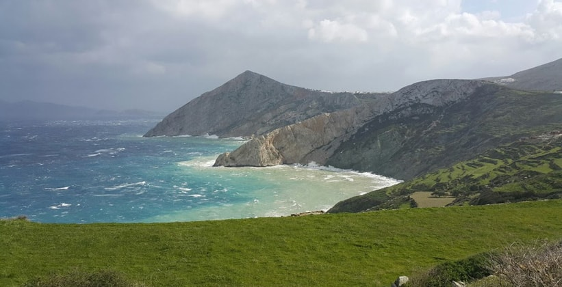 Остров Фолегандрос в Греции