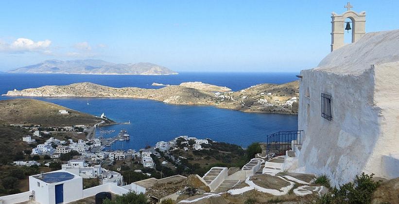 Остров Иос в Греции