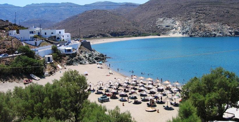 Остров Тинос в Греции