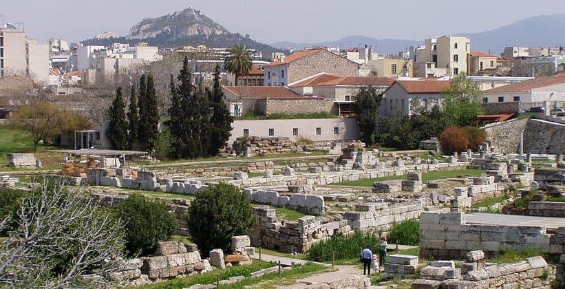 Район Керамик в Афинах (Греция)