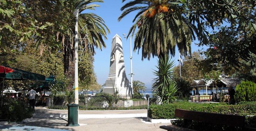Памятник в честь Наваринского сражения в Пилосе