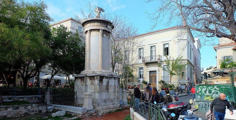 Памятник Лисикрата в Афинах (Греция)