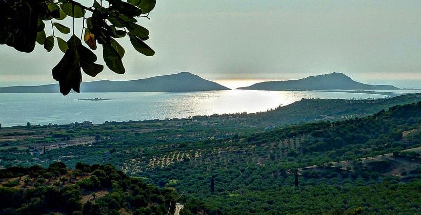 Наваринский залив в Греции