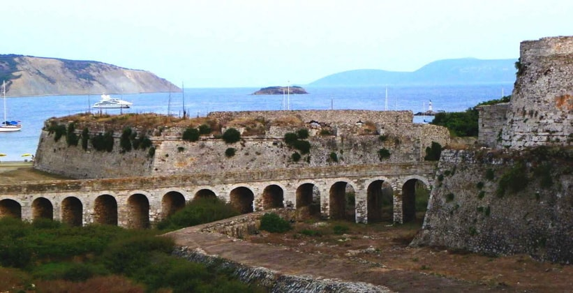 Остатки дворца Нестора в Греции