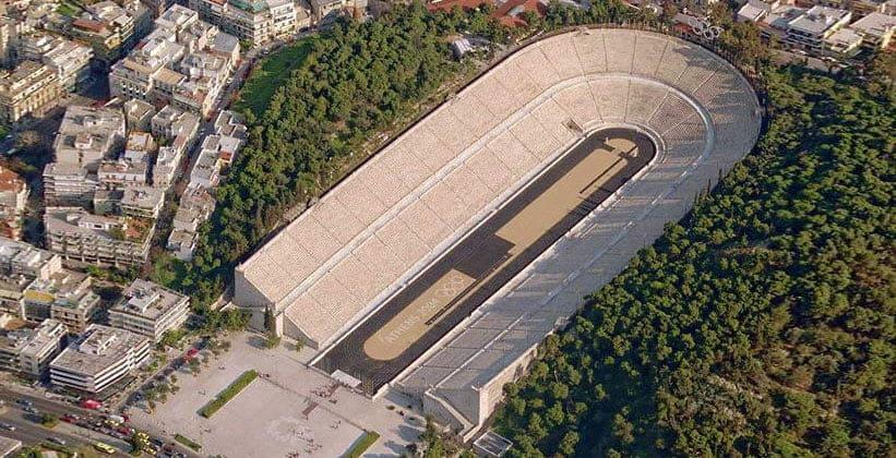 Панафинейский стадион в Афинах (Греция)