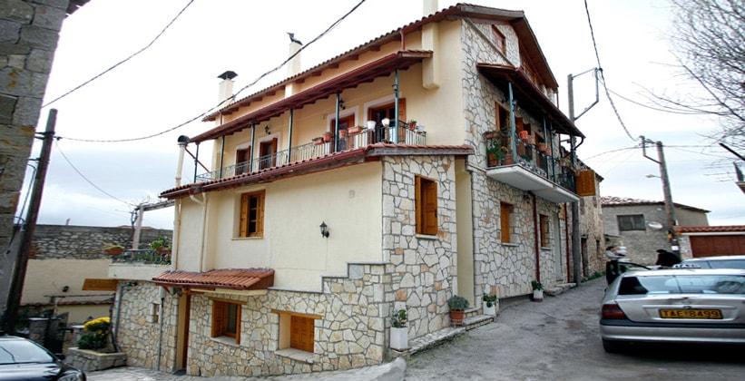 Пансион Patriko в городе Арахова (Греция)