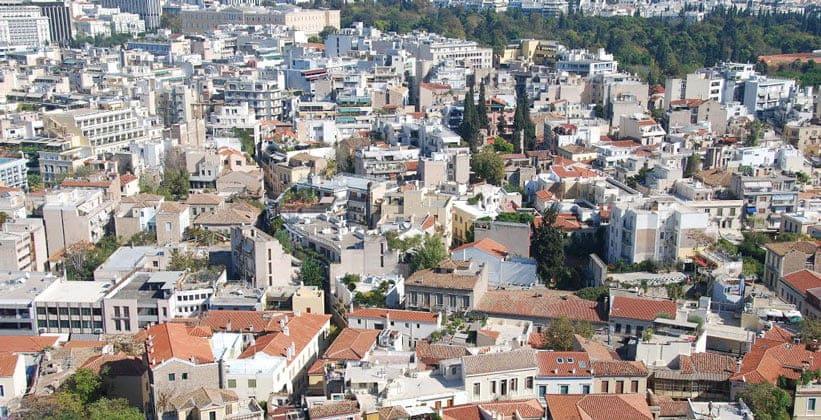 Район Плака в Афинах (Греция)