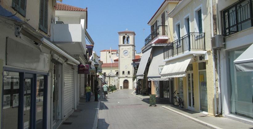 Центральная часть Превезы (Греция)