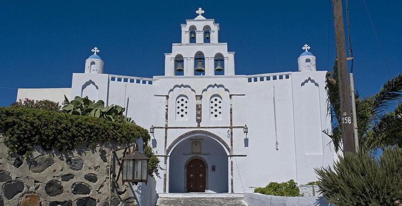 Церковь Theotokos в деревне Пиргос (Греция)