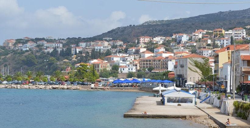Город Пилос в Греции