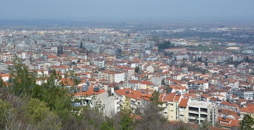 Город Верия в Греции