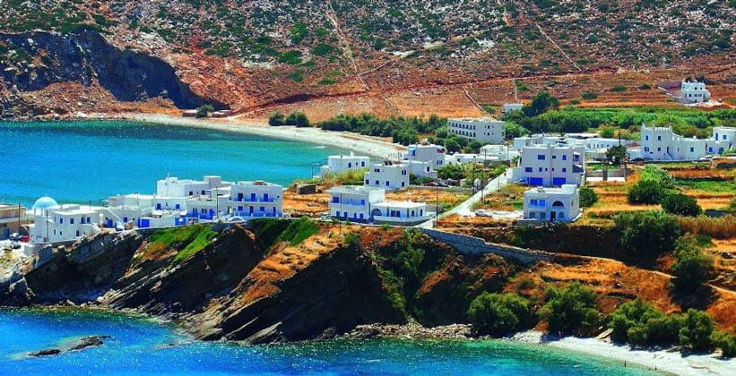 Деревня Аполлон на острове Наксос