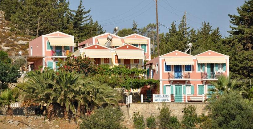 Апартаменты Niriides в городе Сими (Греция)
