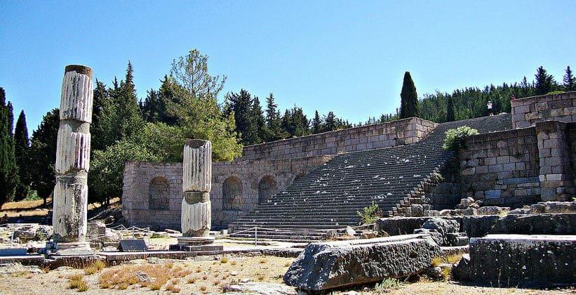Руины храма Асклепион на острове Кос (Греция)