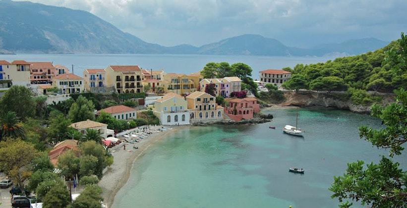 Курорт Асос на острове Кефалиния (Ионические острова – Греция)