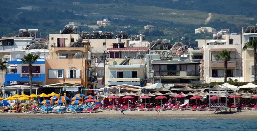 Один из пляжей на острове Кос
