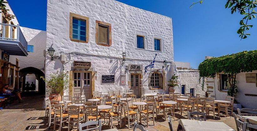 Ресторан в окрестностях города Скала (Греция)