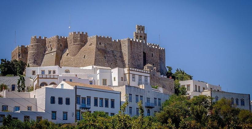 Монастырь Иоанна Богослова на острове Патмос (Греция)