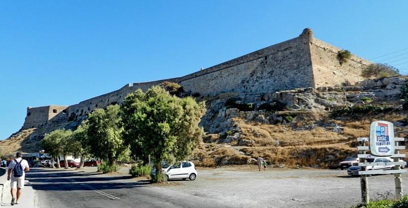 Крепость в городе Ретимно (Греция)