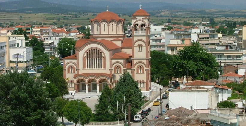 Кафедральный собор в Комотини (Греция)