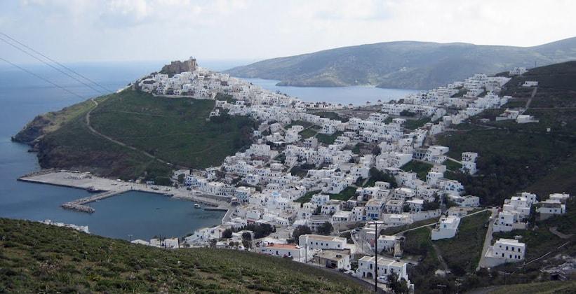 Хора на острове Астипалея (Греция)